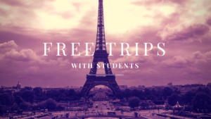 Teachers get free trips with EF Tours when you take students abroad!