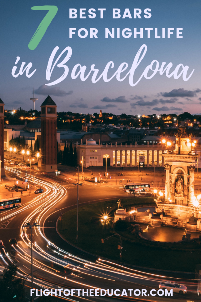 Barcelona is full of fun, food, and dancing! Check out these fun theme bars and restaurants! #Barcelona #Spain