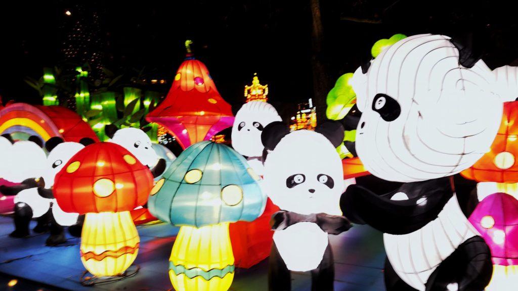 Chinese Lantern Festival in Centennial Olympic Park