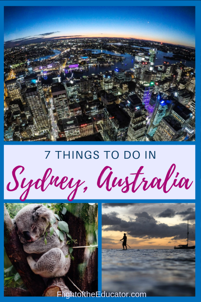 Sydney Australia is known for the Sydney Opera house! But if you're planning a trip to Australia, you should also think about these exciting places to see in Sydney! Great for couples, friends, or solo!