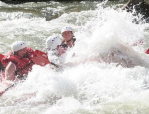 White water rafting groupon