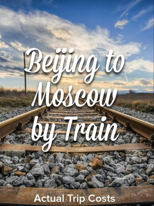 Planning a trip on the Trans Mongolian Railway or The Trans Siberian Train journey can be overwhelming. This has all my costs associated with my rail journey with a tour. #TransMongolian #TransSiberian #Budget #Russia #Mongolia #China