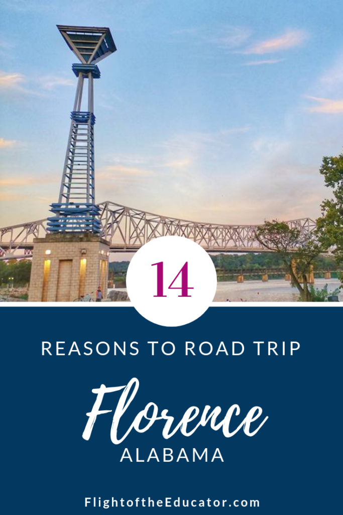 There are tons of things to do in Downtown Florence Alabama for the whole family!