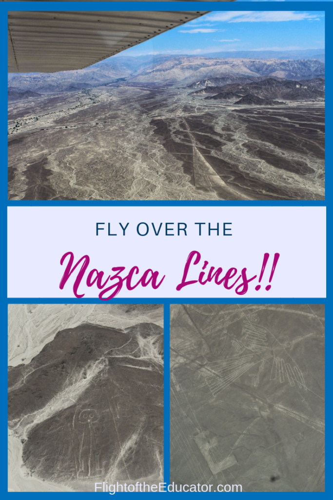 Peru has a lot to offer other than Machu Picchu! Check out the Nazca Lines from a plane! They are ancient! Done by or for aliens? Find out!