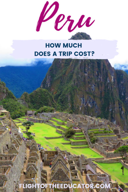 If you're going to travel to Peru in South America, then you need to know the costs! #Peru #SouthAmerica #MachuPicchu #travel
