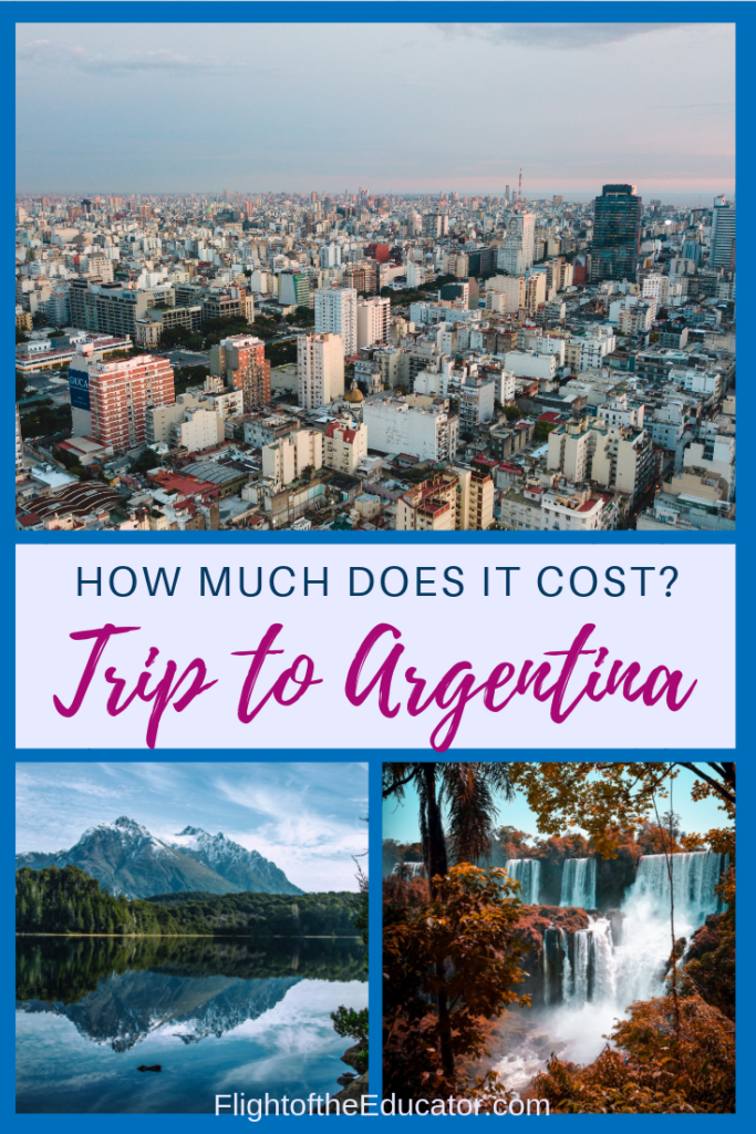Buenos Aires is the capital of Argentina, but there are more places to see than just there! Click to read about my prices (with pics!) to better help plan your trip itinerary and budget to Argentina!