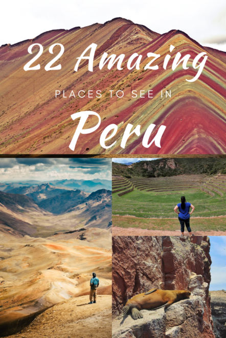 Peru has more than Machu Picchu to see! Down in South America is a world of wonders with mountains, jungles, deserts, rivers and more! #SouthAmerica # Peru #MachuPicchu #Andes
