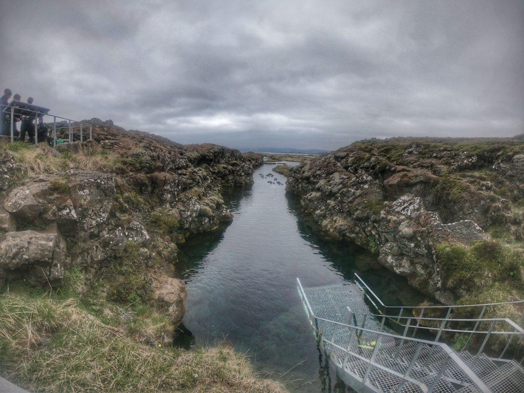 silfra fissure thingvellir park Iceland