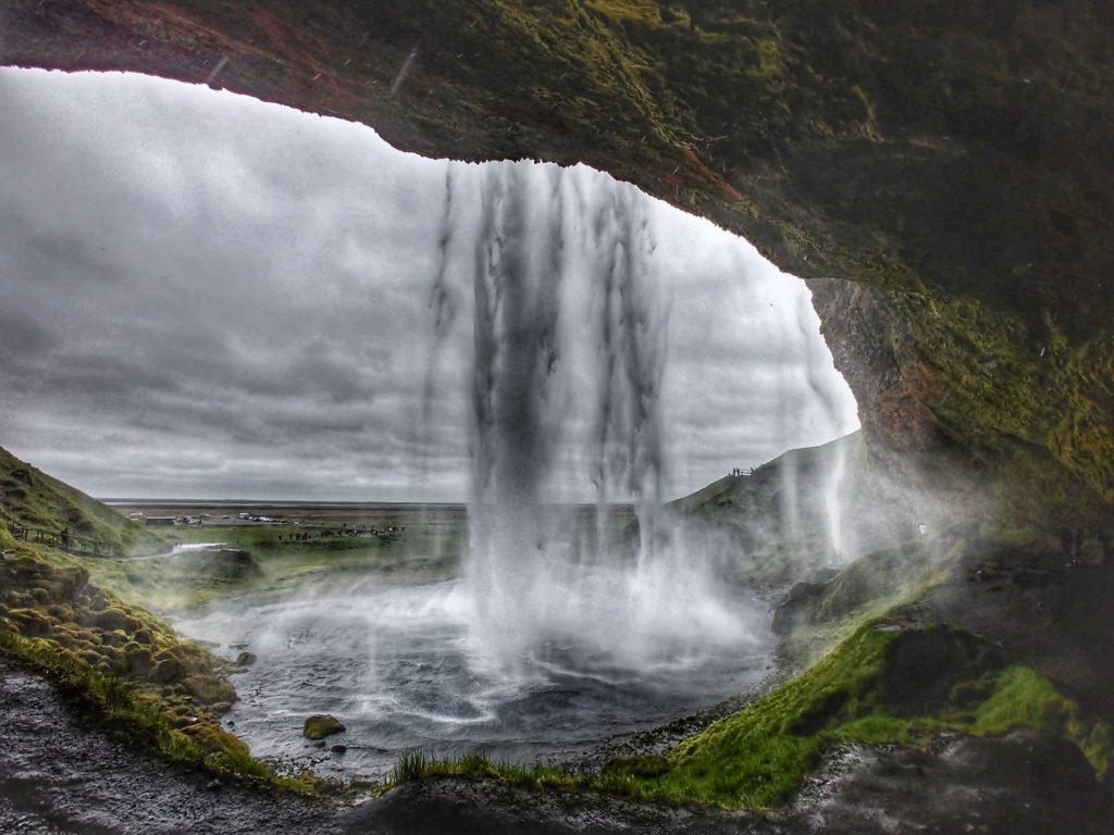 wow air reviews iceland waterfalls
