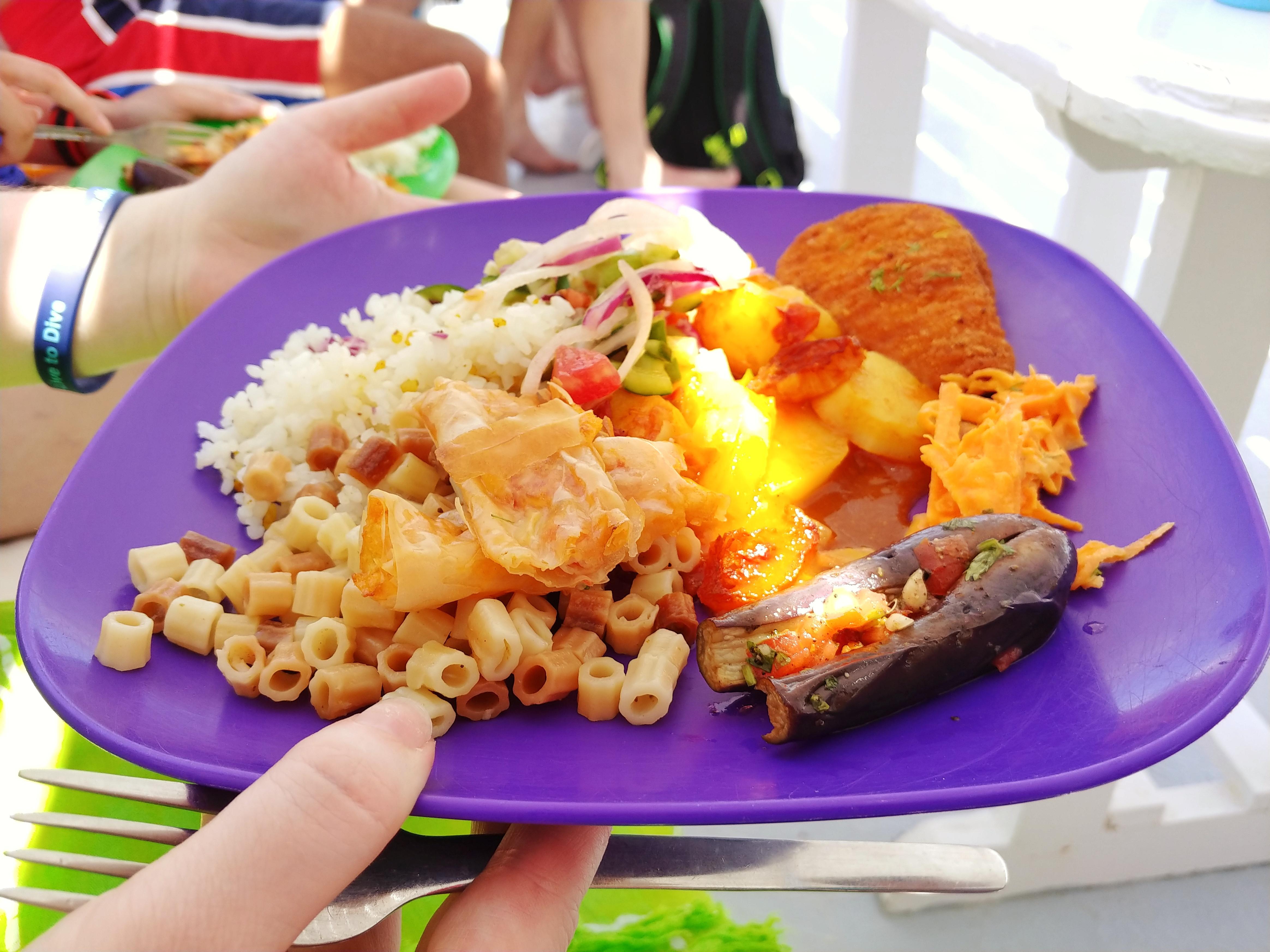 hurghada diving food