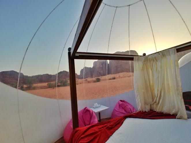 wadi rum bubble hotel