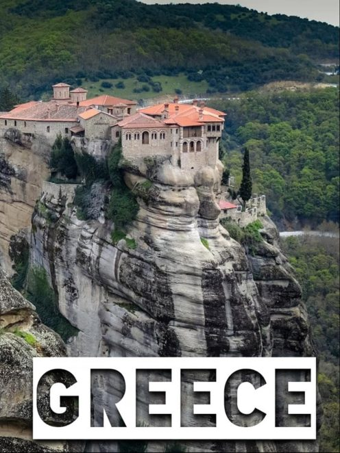 Athens, Greece is an incredible testament to human architecture and culture, but outside of the city are quite a few stunning natural places! Check out these naturally formed places in Greece! #Greece #GreekIslands #Beaches #Meteora