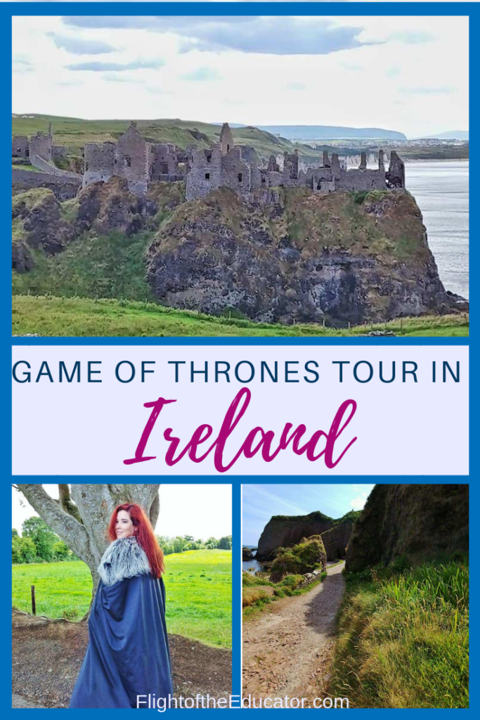 There are many Game of Thrones places to visit in Northern Ireland including castles, woods, and caves! #GameofThrones #Ireland #NorthernIreland