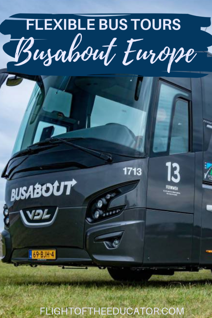 Busabout Europe is the best way to get around to all the major sites like Paris, Rome, and Barcelona! This Hop On/Off Bus Network will let you travel with ease. Great for Solo Travel or couples! Read to discover what it's like!