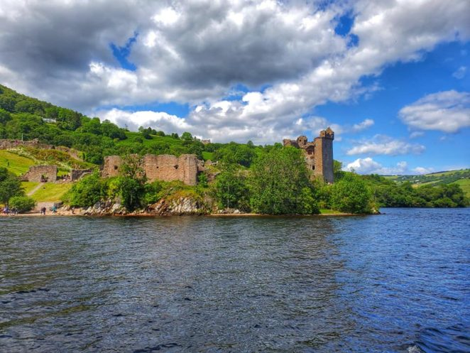 Urquhart tours on a loch ness cruise