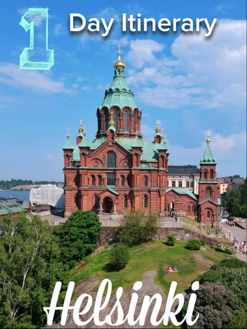 If you only have a day in Helsinki, here are the top sites to visit! This is a great day trip from Tallinn or befor eyou head out to the rest of Finland!