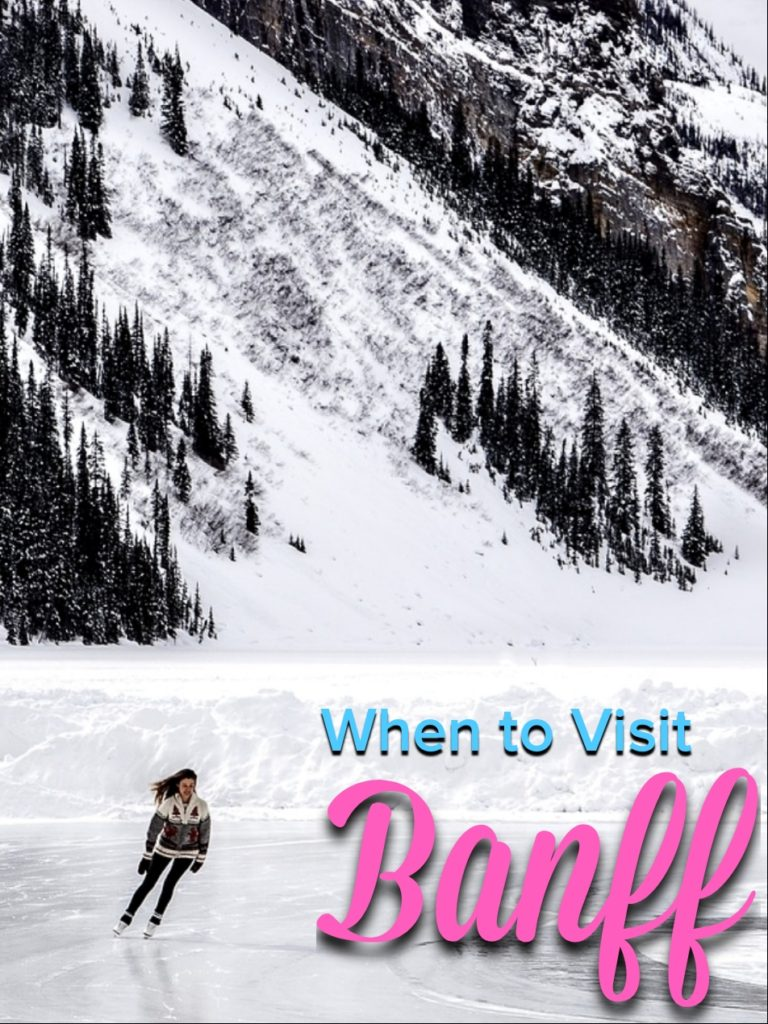 Trying to decide when the best time to visit Banff National Park is? Spoiler alert: It's winter. Check out these reasons to see Banff in winter! #banff #nationalpark #lakelouise