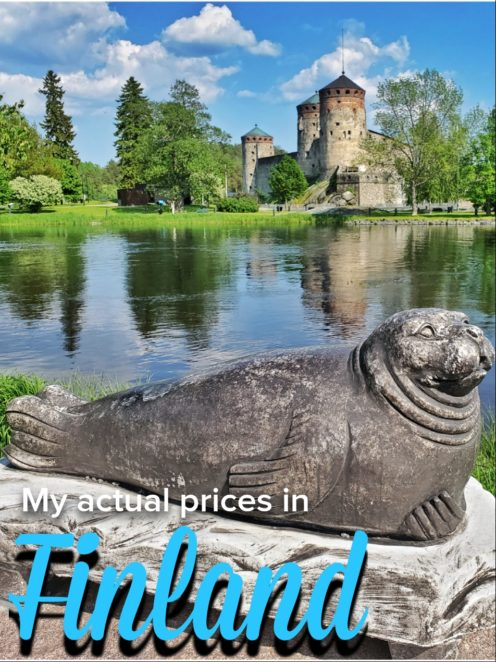 These are my actual prices from my trip to Finland. Read to get an idea about Finland prices and what to expect! #Finland #Budget #Prices #Europe