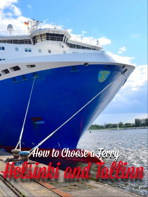 Trying to figure out how to get from FInland to Estonia or vice versa? There are a few ferry options available, so click to see how they are similar and different to find the best option for you! Bonus: What is it like on the ferry! #Finland #Estonia #Helsinki #Tallinn #Ferry #Europe