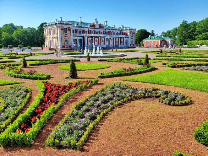 Baltic itinerary kadriorg palace