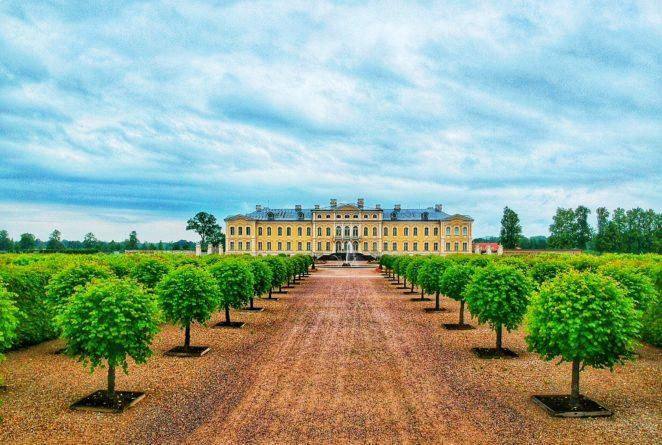 Baltic travel itinerary Rundale palace
