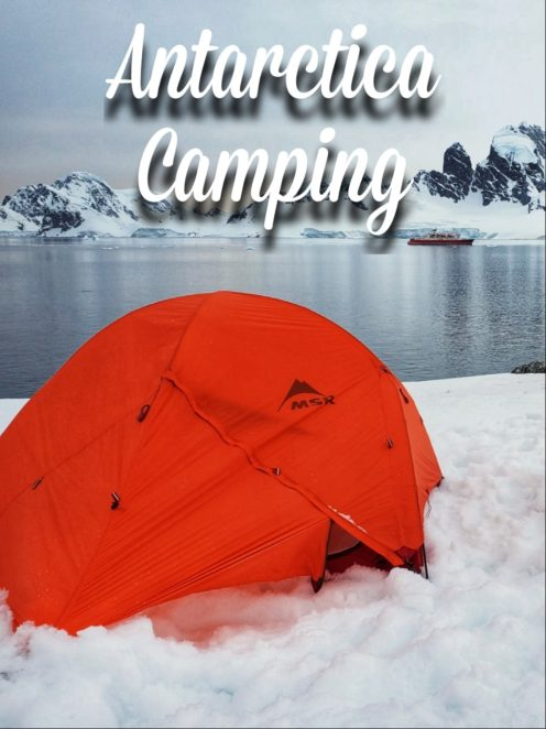Antarctica is a major bucket list achievement, but have you considered going camping on Antarctica? This is everything you need to know about what to expect, what to bring, and what you'll see! #Antarctica #camping #Polar #GAdventures #AntarcticaCamping #Camping in Antarctica