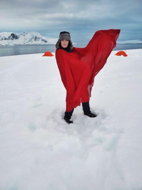 photoshoot in antarctica
