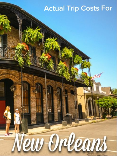 New Orleans AKA the Big Easy, is an exciting, historical, and haunted city! Great for a weekend or longer, use this budget from my Weekend getaway to figure out how much money you need for your own trip! #NewOrleans #BigEasy #Louisiana #WeekendTrip #Budget #TripCosts