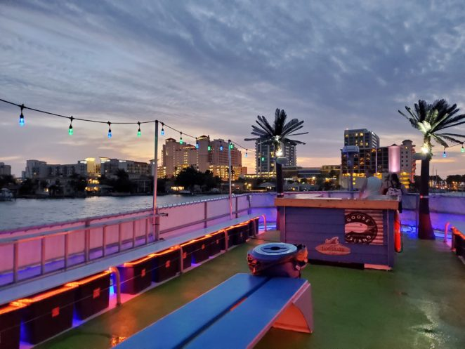 sunset cruise tampa