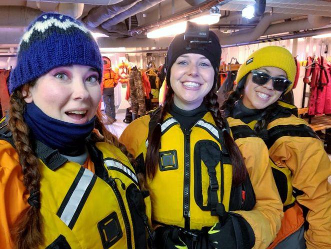 equipment needed for antarctica kayak