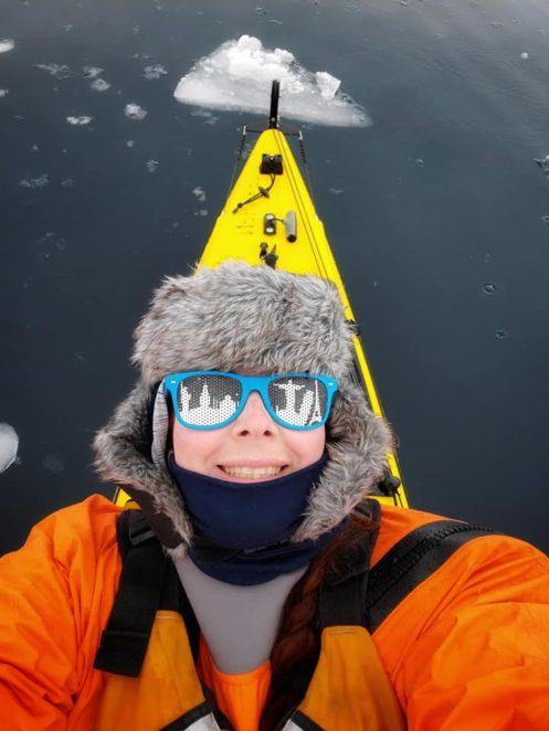 antarctica in kayaking