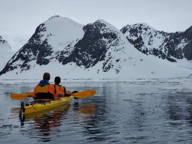do you need experience to kayak in antarctica